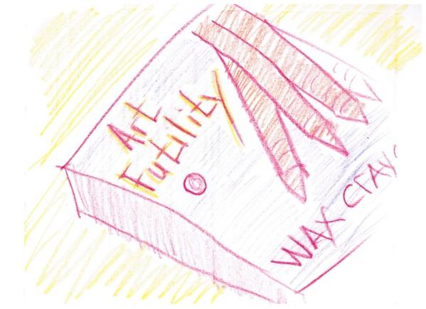 Art Futility - Wax Crayons