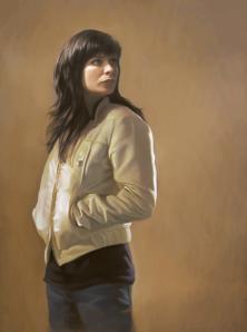woman beige