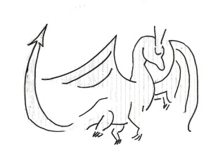 Dragon dragon burning fast