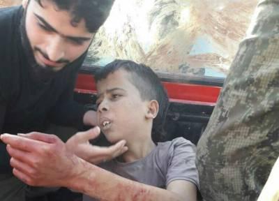Syrian 10 year old