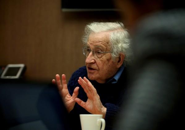 Chomsky and tea
