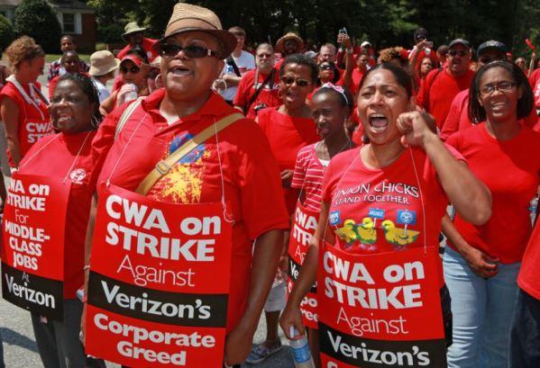 CWA on Strike Against Capitalist Greed