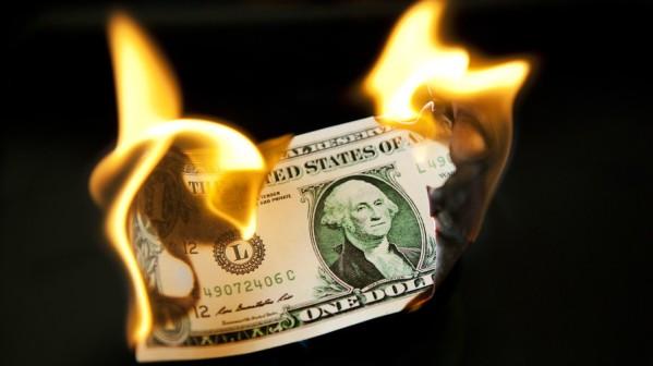 money burning e