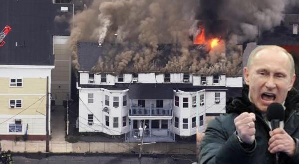 Putin on Fire