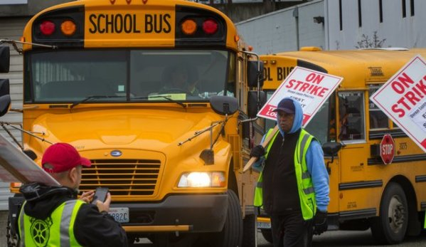 Seatle Bus Strike Ends