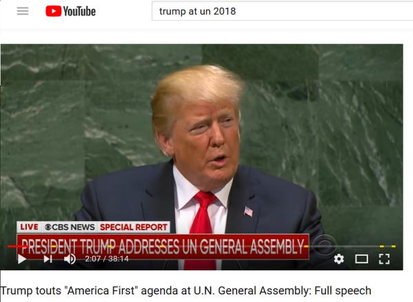 Trump UN 25 Sept 2018