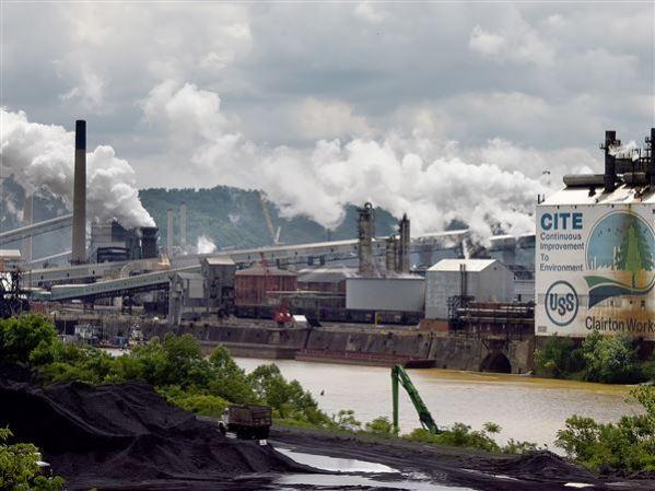 U. S. Steel mill