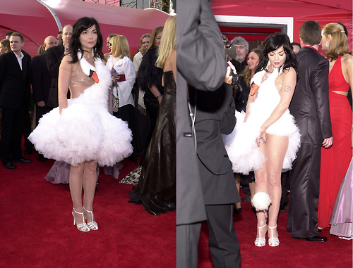 Bjork's Swan Dress 2