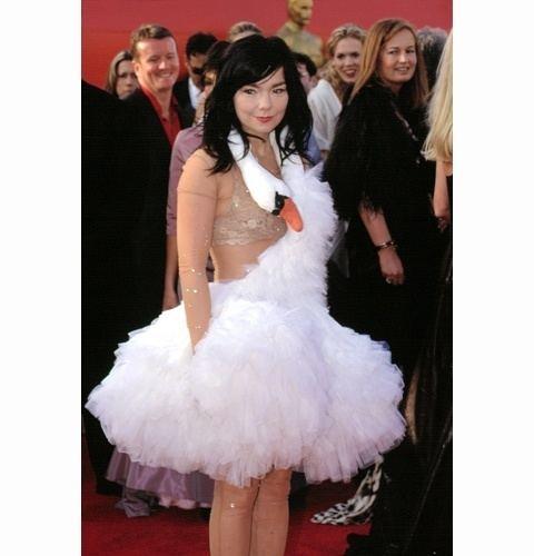 Bjork's Swan Dress 3