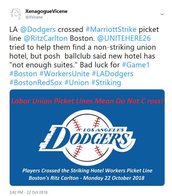 Dodgers Tweet
