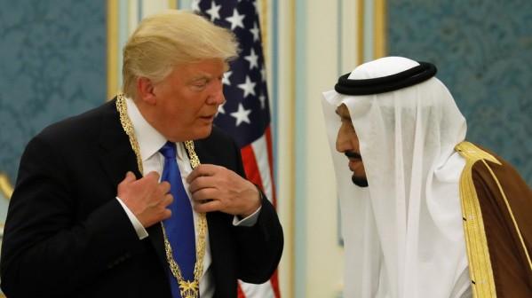 Trump and Saudi Dictator