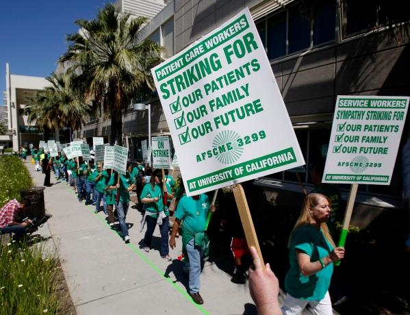 UC Hospitals-Strike