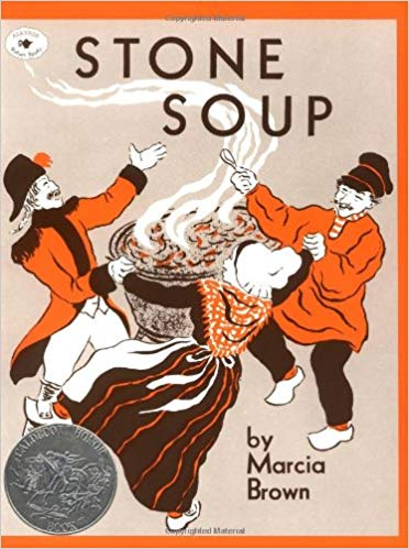 kids book 2 Stone Soup by Marcia Brown