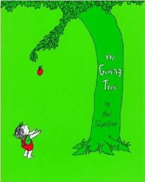 kids book 3 The Giving Tree by Shel Siverstein