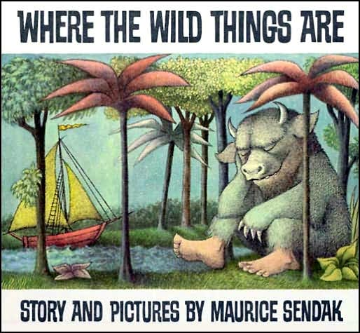 kids book 7 Where The Wild Things Are by Maurice Sendak