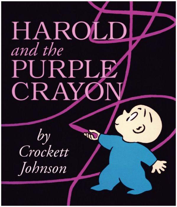 kids books 13 Harold and the Purple Crayon by Crockett Johnson