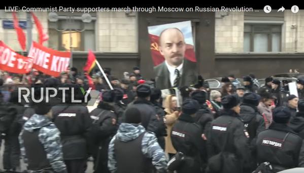 Moscow 7 nov 2