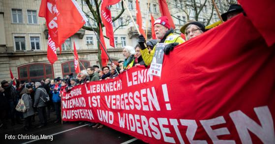 Berlin 15 000 Rally To Remember The 100th Anniversary Of The