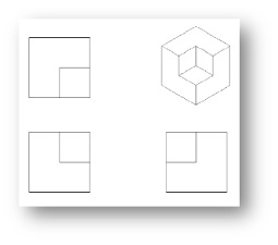 isometric cut out