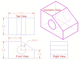 Isometric from orthographic