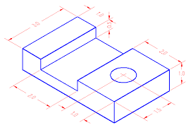 Isometric with dimensions