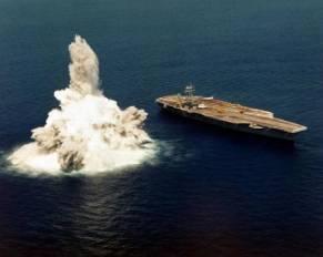 navy ship explosion