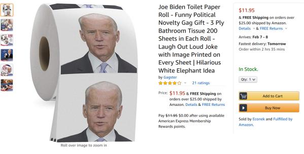 Biden Toilet Paper