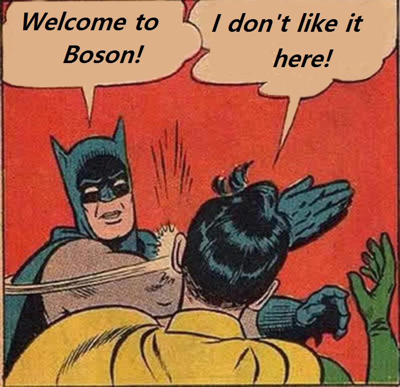 Boson Batman