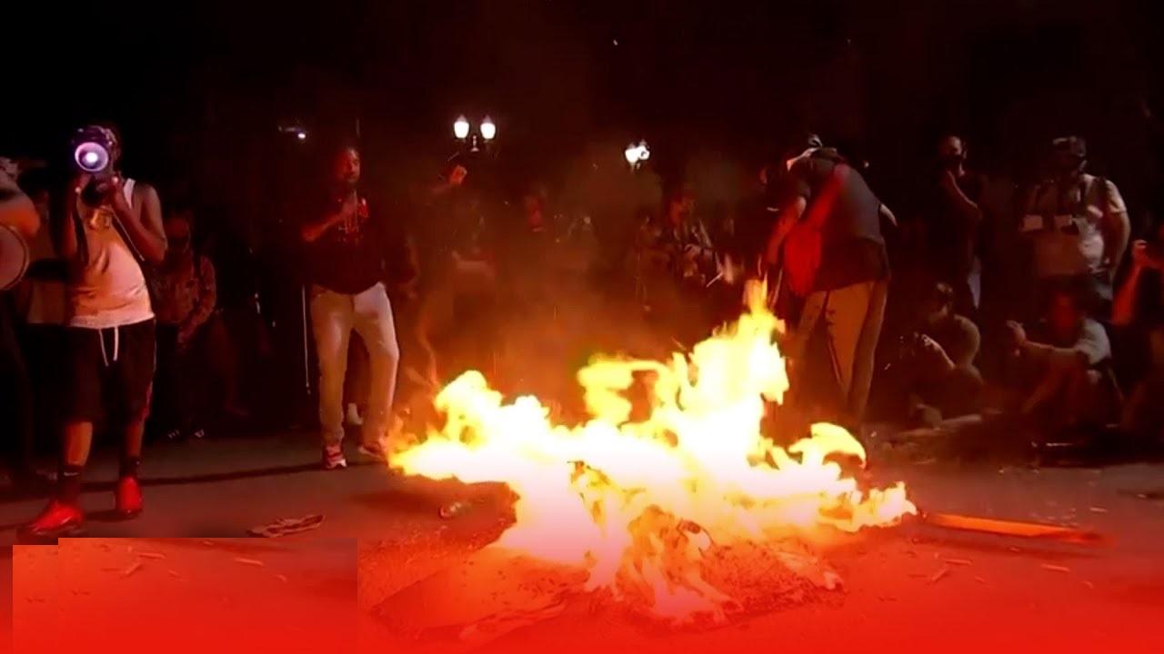 portland burn